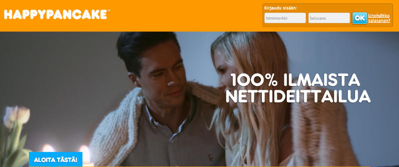 Ilmainen nettideitti - Happypancake.fi