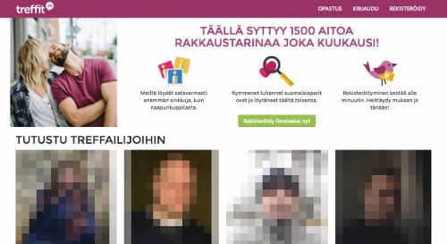 Suomen suurin deittisivusto