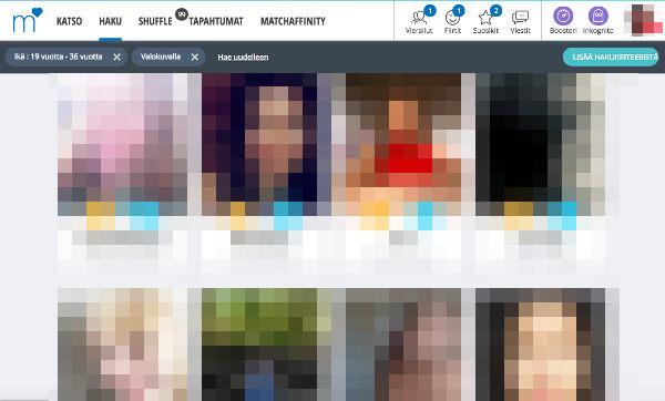 match.com suomi